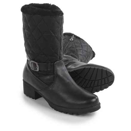Aquatherm by Santana Canada Mardi Gras 3 Snow Boots - Waterproof, Insulated (For Women) in Black - Closeouts