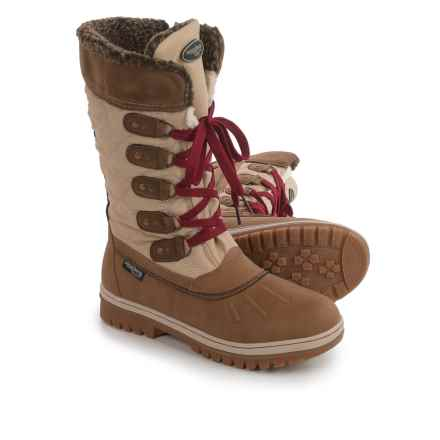 Aquatherm by Santana Canada Moose Winter Boots - Waterproof, Insulated (For Women) in Ice - Closeouts