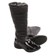 Aquatherm by Santana Canada Snowflake Snow Boots - Waterproof, Insulated (For Women) in Black - Closeouts