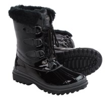 Aquatherm by Santana Canada Sparkle Snow Boots - Waterproof, Insulated (For Women) in Black - Closeouts