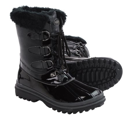 Aquatherm by Santana Canada Sparkle Snow Boots Waterproof Insulated For Women