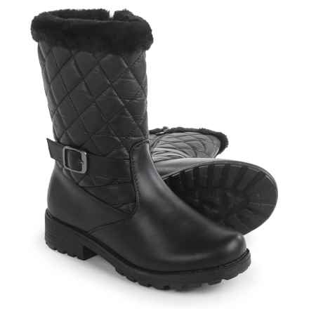 Aquatherm by Santana Canada Whittaker 2 Snow Boots - Waterproof, Insulated (For Women) in Black - Closeouts