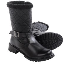 Aquatherm by Santana Canada Whittaker Boots - Waterproof, Insulated (For Women) in Black - Closeouts