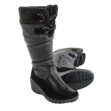 Aquatherm by Santana Canada Wren Snow Boots - Waterproof (For Women) in Black - Closeouts