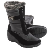 Aquatherm by Santana Canada Wynter Snow Boots - Waterproof (For Women) in Black - Closeouts