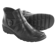 Ara Adair Ankle Boots - Leather (For Women) in Black Leather - Closeouts