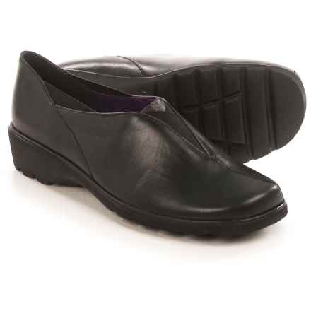 Ara Adel Slip-On Shoes - Leather (For Women) in Black - Closeouts