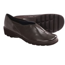 Ara Adel Slip-On Shoes - Leather (For Women) in Dark Coffee - Closeouts