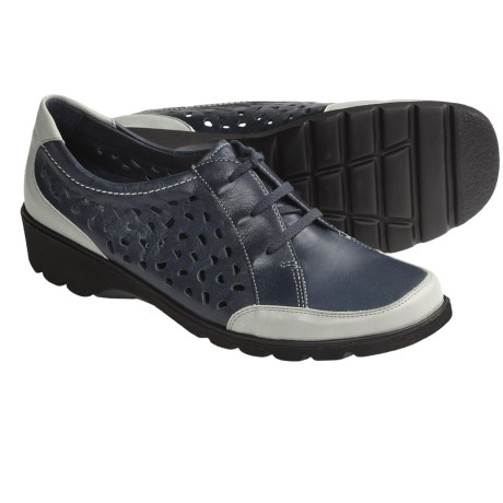 Ara Alana Shoes - Leather, Lace-Ups (For Women) in Black
