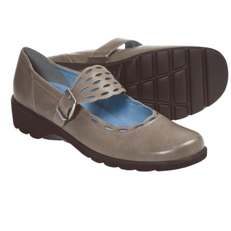 Ara Amber Mary Jane Shoes (For Women) in Taupe
