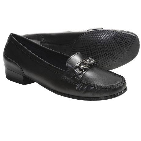 Ara Blaise Loafers - Leather (For Women) in Black Patent
