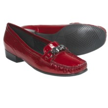 Ara Blaise Loafers - Leather (For Women) in Red Patent - Closeouts
