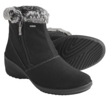 Ara Brenda Gore-Tex® Boots - Waterproof, Side Zip (For Women) in Black - Closeouts