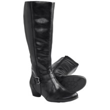 Ara Casey Tall Boots - Leather (For Women) in Black - Closeouts
