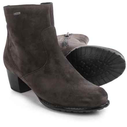 Ara Felicity Gore-Tex® Boots - Waterproof, Suede (For Women) in Dark Grey Suede - Closeouts