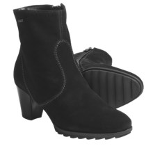 Ara Gloria Gore-Tex® Ankle Boots - Waterproof, Suede (For Women) in Black - Closeouts