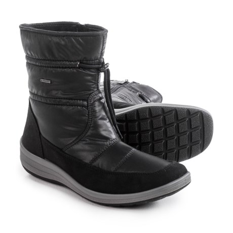 Ara Gloria Gore-Tex® Snow Boots - Waterproof (For Women) in Black Fabric