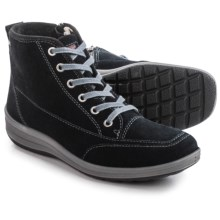 Ara Greta Gore-Tex® Snow Boots - Waterproof, Suede (For Women) in Black Suede - Closeouts