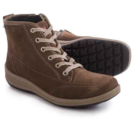 Ara Greta Gore-Tex® Snow Boots - Waterproof, Suede (For Women) in Taupe Suede - Closeouts
