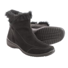 Ara Magda Gore-Tex® Winter Boots - Waterproof (For Women) in Black Microsuede - Closeouts