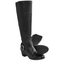 Ara Meryl Tall Boots - Side Zip (For Women) in Black - Closeouts