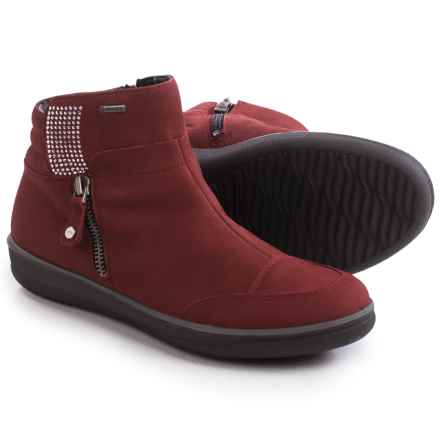 Ara Mesa Gore-Tex® Snow Boots - Waterproof (For Women) in Chianti Nubuck - Closeouts