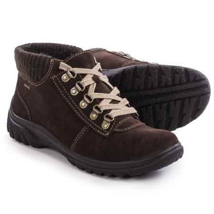 Ara Paz Gore-Tex® Snow Boots - Waterproof, Suede (For Women) in Brown Suede - Closeouts