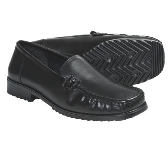Ara Penny Slip-On Shoes (For Women) in Black Leather