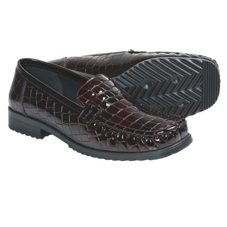 Ara Penny Slip-On Shoes (For Women) in Burgundy