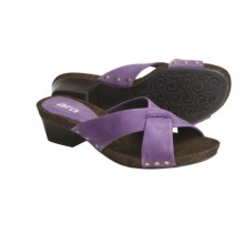 Ara Pescara Sandals - Slip-Ons (For Women) in Violet - Closeouts