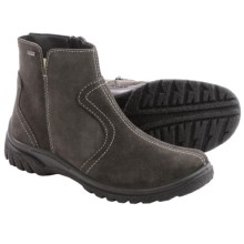 Ara Pilar Gore-Tex® Suede Snow Boots - Waterproof, Fleece Lined (For Women) in Dark Grey Suede - Closeouts