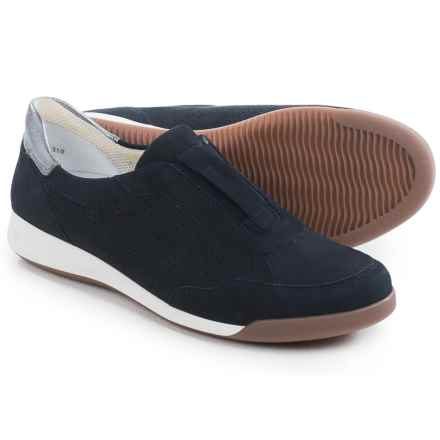 Ara Roksana Slip-On Shoes - Nubuck (For Women) in Navy - Closeouts