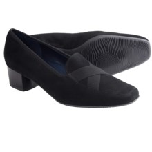Ara Rosie Heeled Loafer Shoes (For Women) in Black - Closeouts
