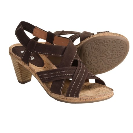 Ara Rosso Strappy Sandals (For Women) in Brown