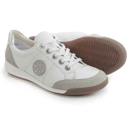 Ara Ryder Sporty Sneakers - Nubuck (For Women) in Kiesel Suede - Closeouts