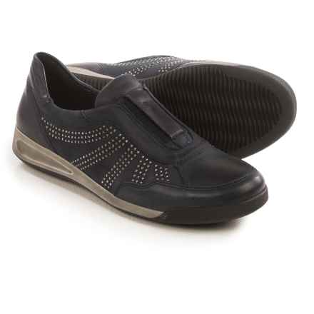 Ara Rylan Slip-On Shoes - Leather (For Women) in Navy - Closeouts