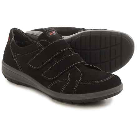 Ara Scarpa Double-Strap Shoes - Nubuck (For Women) in Black - Closeouts