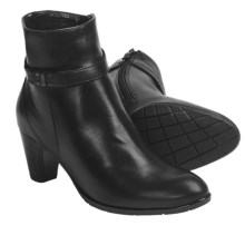 Ara Terry Ankle Boots (For Women) in Black Leather - Closeouts
