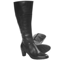 Ara Traci Tall Boots (For Women) in Black Leather