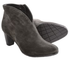 Ara Tricia Ankle Boots (For Women) in Charcoal Velour - Closeouts