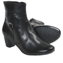 Ara Tyanne Ankle Boots (For Women) in Black Leather - Closeouts