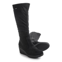 Ara Velia Gore-Tex® Snow Boots - Waterproof (For Women) in \Black Microsuede Stretch - Closeouts