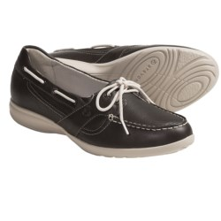 Aravon Jillian Loafers - Leather (For Women) in Dark Brown
