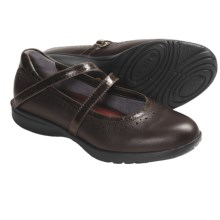 Aravon Jodi Mary Jane Shoes - Leather (For Women) in Brown - Closeouts