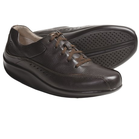 Aravon Laney Shoes - Leather, Lace-Up (For Women) in Brown