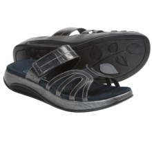 Aravon Remy Sandals - Leather (For Women) in Black - Closeouts