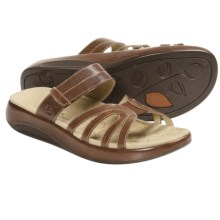 Aravon Remy Sandals - Leather (For Women) in Brown - Closeouts