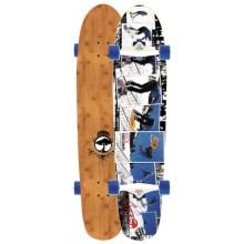 "Arbor Bamboo Hybrid Complete Longboard - 9.25x38"" in See Photo - Closeouts"