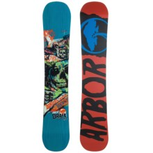 Arbor Draft Snowboard in Blue - 2nds
