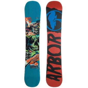 Arbor Draft Snowboard in Blue